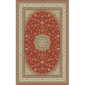 Kusový koberec červený