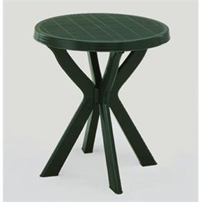 21f131be9a74 Kulatý plastový stůl na balkon DON zelený
