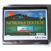 Černá netkaná textilie