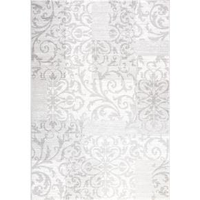 Šedý koberec kusový